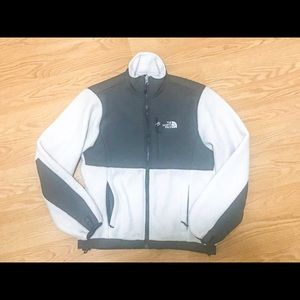 The North Face White Denali Jacket